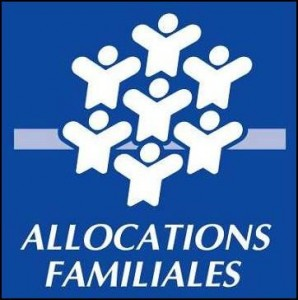 Logo des allocations familiales en France