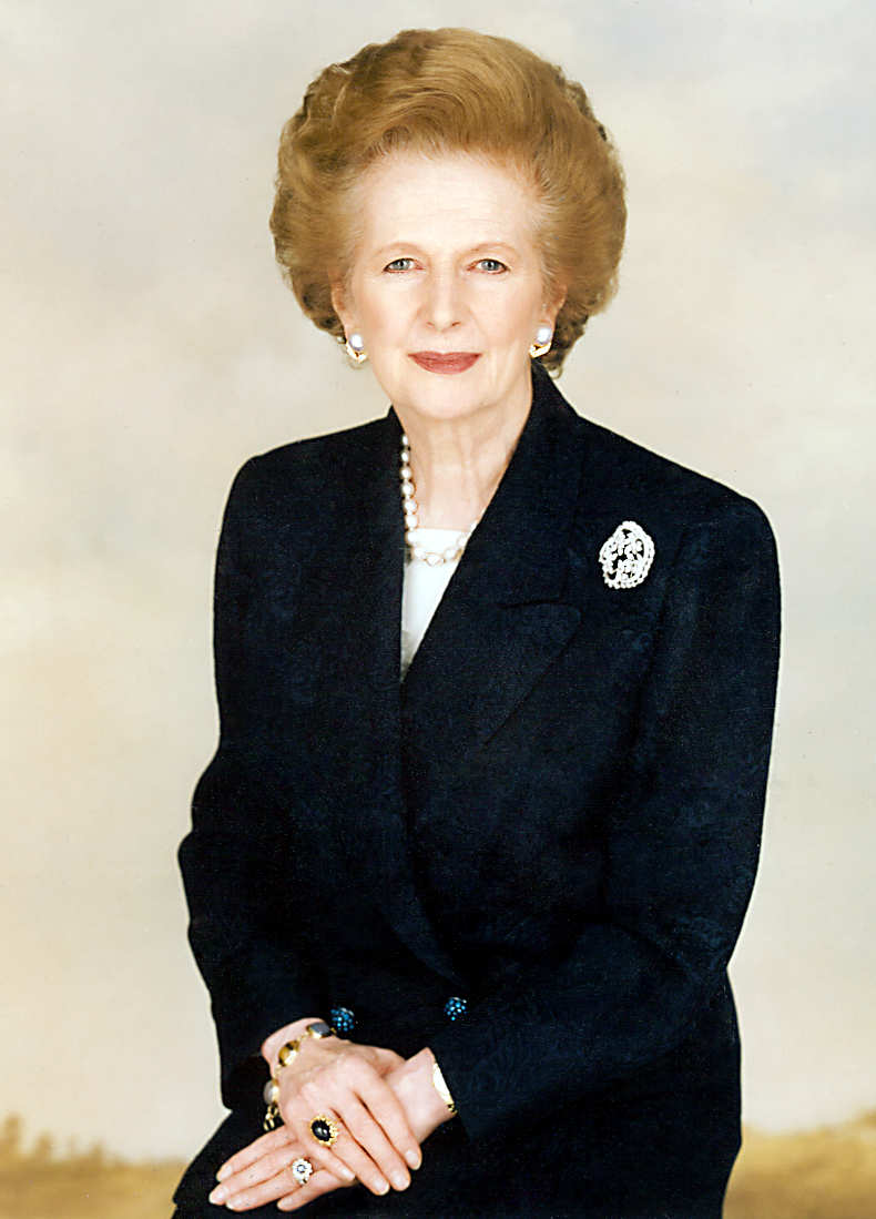 Photo officielle de Margareth Thatcher